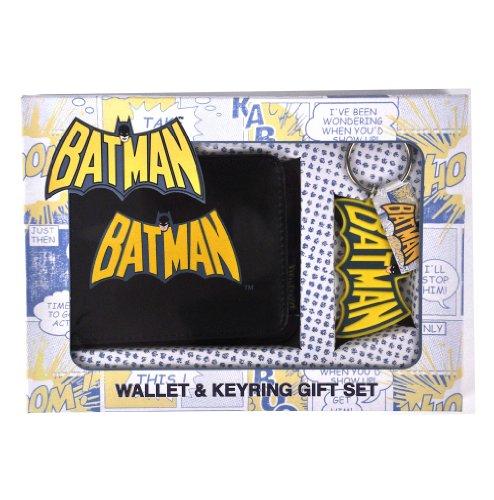 Price comparison product image Batman Wallet and Keychain Set