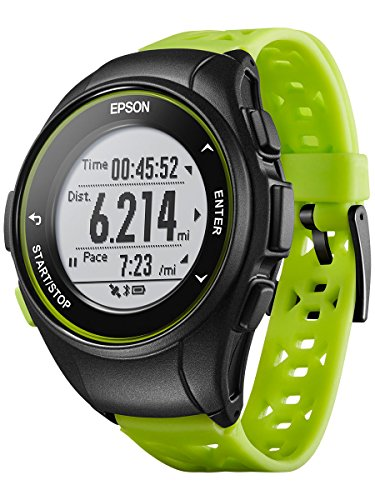 Epson ProSense 17 GPS Running Watch with Activity Tracking - Green by Epson