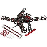 200 QX Frame Kit, Aluminum/Carbon Fiber: Red
