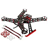 200 QX Frame Kit, Aluminum/Carbon Fiber: Red