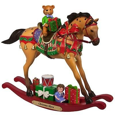 Trail of Painted Ponies 2017 Holiday Limited Release CHRISTMAS MORN Hand-Painted 7