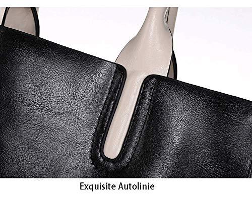 dames voor lederen Bordeaux Zbsy Smooth 13 zwart 27cm schoudertas 32 5t6tIqw