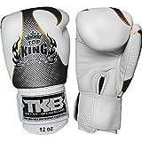 "Auth Top King Muay Thai Boxing Gloves ""EMPOWER"" TKBGEM-01-WH White - 8,10,12,14,16,18 Oz (8oz)"