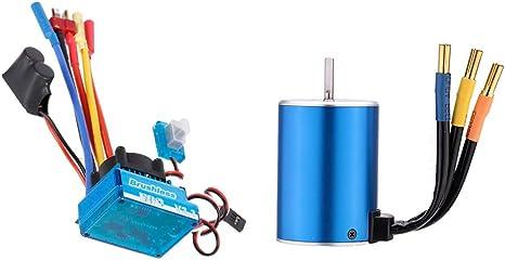 Cyw-3650 3300Kv // 4P Brushless Motor Für 1//10 Rc Car Q7P6 1X