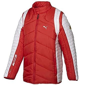 Ferrari Puma para Hombre SF Chaqueta Acolchada para niña - Rojo -: Amazon.es: Ropa y accesorios