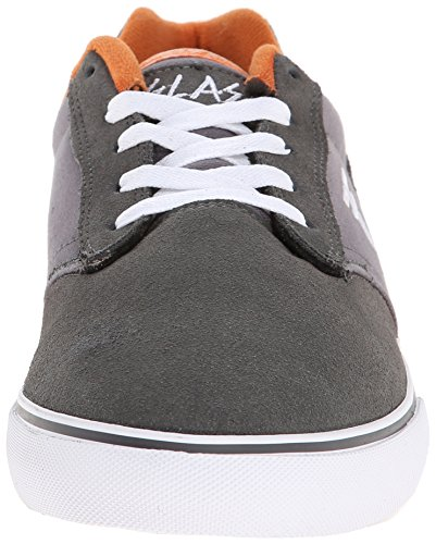 FALLEN SLASH CEMENT GRAY/ACID ORANGE HANSEN Signature Skate Shoes