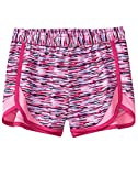 Crazy 8 Little Girls' Active Mesh Dolphin Hem Short, Pink Cationic, L