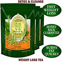 DETOX TEA FOR WEIGHT LOSS AND BELLY FAT - APPETITE CONTROL - BODY CLEANSE – DETOX