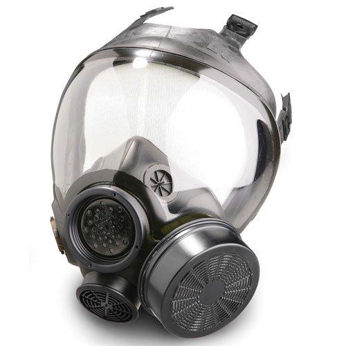 MSA 813861 Full Facepiece Advantage 1000 Control Gas Mask (L) by Mine Safety Appliances