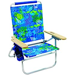 Rio Beach Bum Folding Beach Chair - Baja Boho Palms