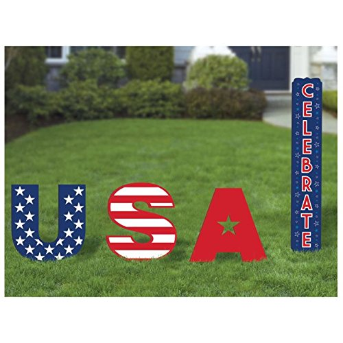 Amscan USA Yard Signs