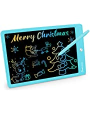 11 Inch LCD Writing Tablet, Colorful Drawing Doodle Board for Kids Toddler Drawing Pad Writing Board, Christmas Birthday Gifts for Boys Girls Age 3-7