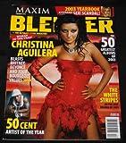 CHRISTINA AGUILERA ISSUE (BLENDER MAGAZINE) DECEMBER 2003