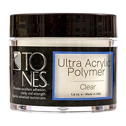 Ultra Acrylic Powder: Sparkling Clear (251 ml / 8.5 fl oz)