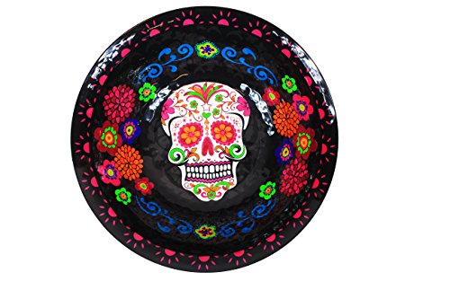 Sugar Skull Day of the Dead Fancy Deep Bowl