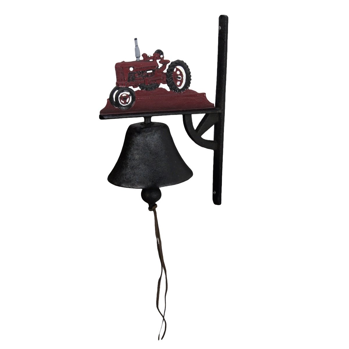 Cast Iron Farm Tractor Welcome Front Door Bell Garden, Yard, Or Patio Decor