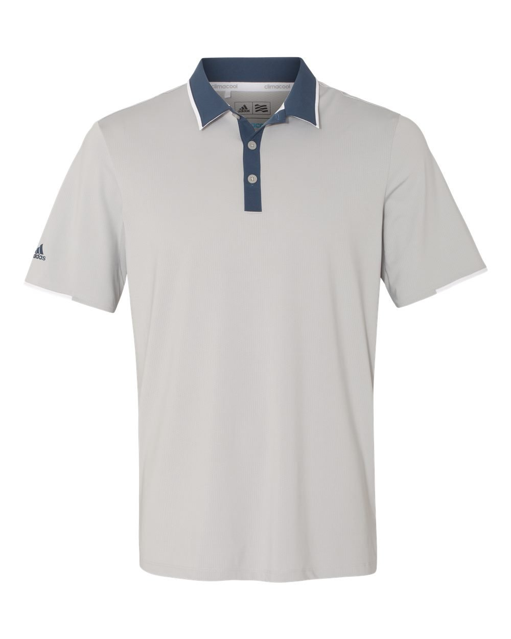 adidas Golf Mens Climacool Performance Polo (A166) -Stone/Min -3XL