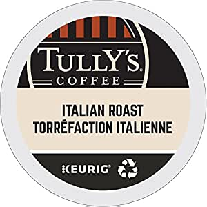 Tully S Coffee Italian Dark Roast Keurig Single Serve K