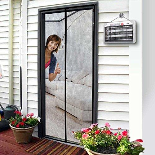 Upgraded Version Homitt Magnetic Screen Door With Durable