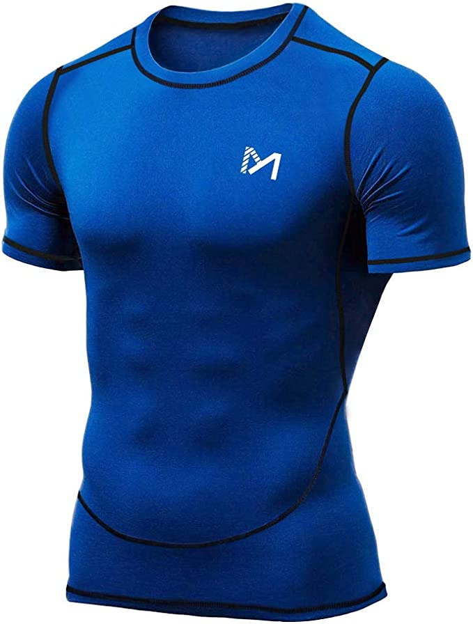 Camisa Deportiva de Manga Corta para Hombre, Above and