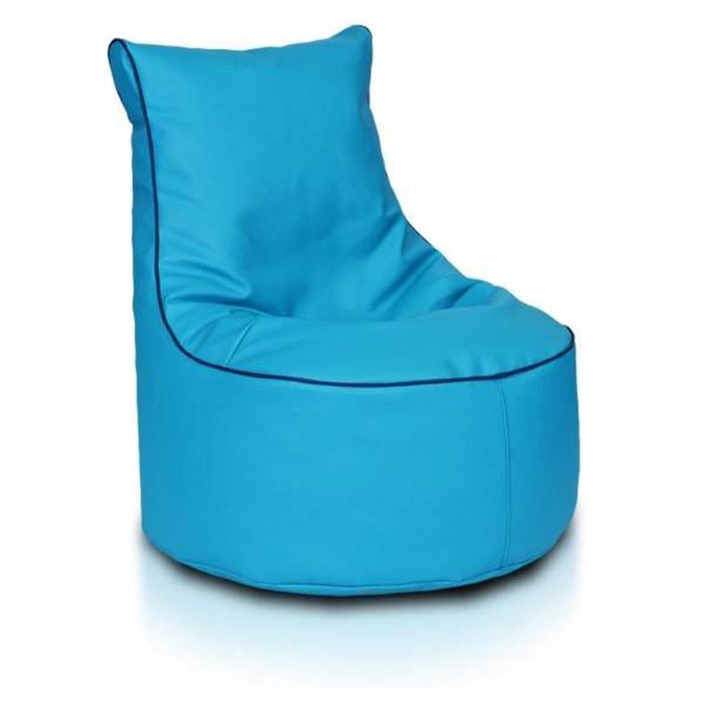 JUSTyou Seat S Puff Cojín Gigante de Piel ecológica Color ...