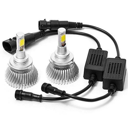 Biltek LED Fog/Driving Light Conversion Bulbs for 2013 Volkswagen Touareg Hybrid (9006 Bulbs)
