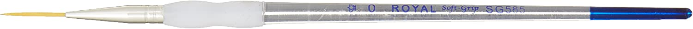 Royal Soft-Grip Series SG585 Gold Taklon Script Liner Size 0