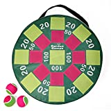 Garden Games Target Toss Fun Inflatable Dart Board Velcro Balls