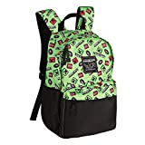 """Best Minecraft Bookbags For Boys - JINX Minecraft 16"""" Scatter Creeper Kids Backpack Review"""