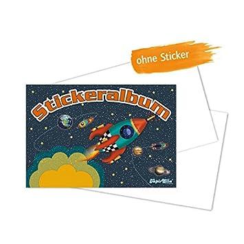 Lutz Mauder 72014 TapirElla Stickeralbum, Rakete