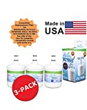 (3 Pack)Whirlpool 8171413 Compatible Refrigerator Water and Ice Filter by Zuma Water Filters (OPFW2)