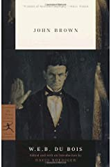 John Brown (Modern Library Classics) by W.E.B. Du Bois (2001-07-10) Paperback