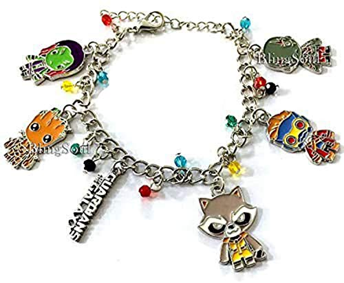 Galaxy Charm Bracelet - Super Jewelry Merchandise Gifts for Women (Peter Pan Once Upon A Time Costume)