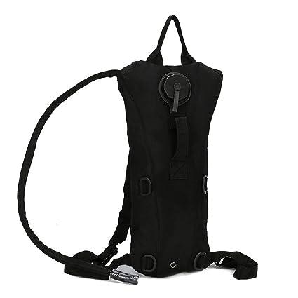 Bolsa de agua, ideaker Camelbak 3L hidratación mochila, senderismo camping ciclismo, negro