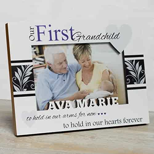 Shopping customizable 2 stars up albums frames journals personalized baby picture frame first grandchild frame grandparents picture frame granddaughter frame negle Gallery