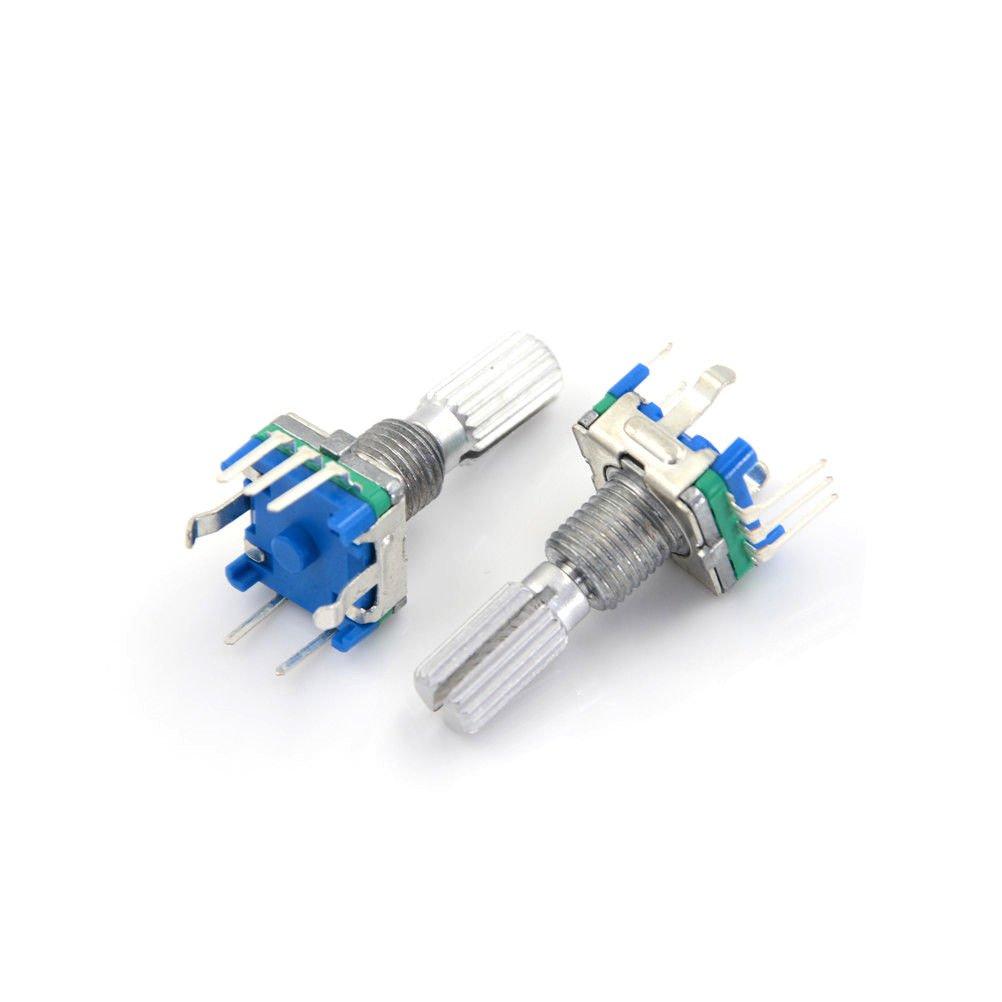 5PCS Rotary encoder switch EC11 Audio digital potentiometer handle 20mm