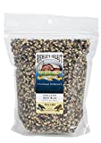 hot air popcorn spray - Riehle's Select Popping Corn - Hulless Baby Blue Whole Grain Popcorn - 2lb (30oz) Resealable Bag