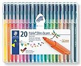 Staedtler Triplus Color Fiber Tip Pens, 323SB20P