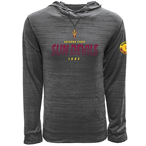 - Levelwear LEY9R NCAA Arizona State Sun Devils Men's Anchor Static Pullover Hoodie, XX-Large, Heather Grey