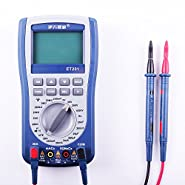 et201 Handheld Oscilloscope Multitester Digital Multimeter 2 in 1 With Lcd Display 2000 data read out