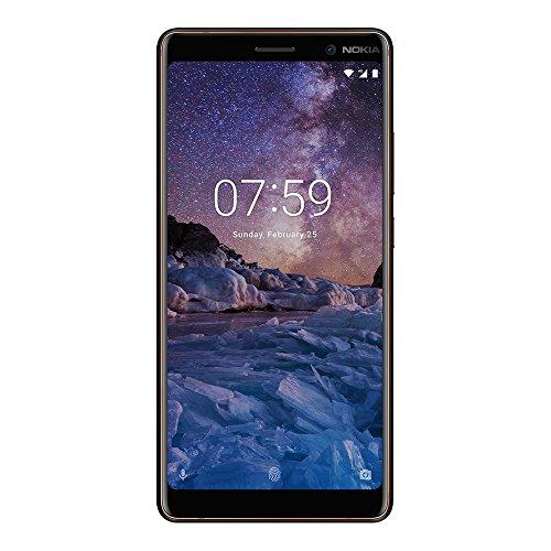"Nokia 7 Plus (TA-1062) 64GB Black Copper, Dual Sim, 6"", 4RAM, GSM Unlocked International Model, No Warranty"