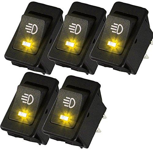 yellow led fog lights for cars - 8