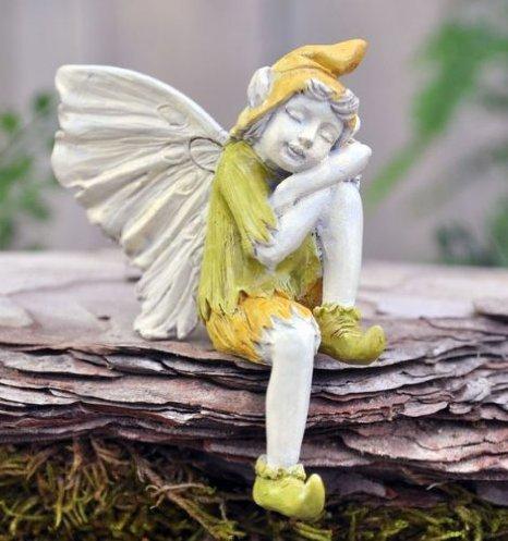 Fiddlehead Fairy Village - Garden Fairies - Sleeping Boy