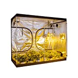 Growtent Garden Grow Tent for Indoor Plant Growing 600D with Removable Floor Tray