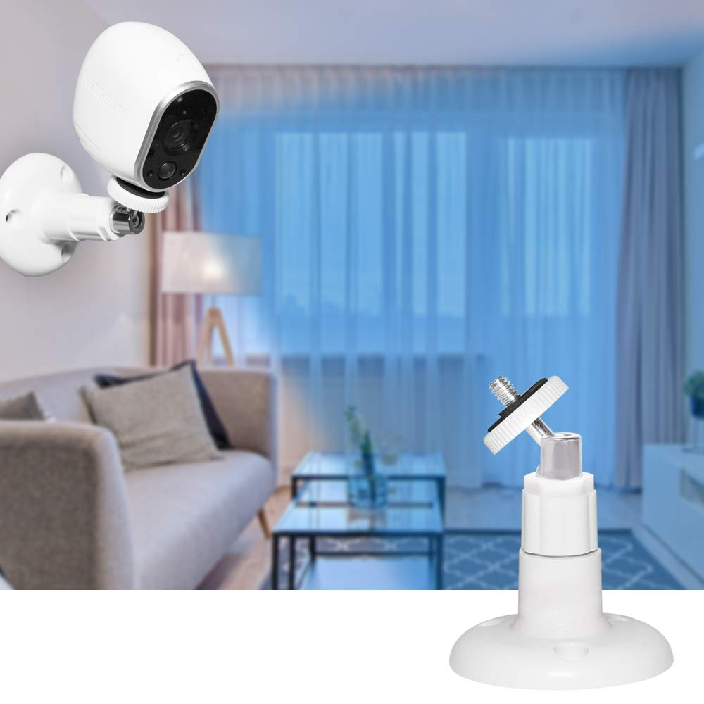 Arlo Pro 360 Degree Adjustable Plastic Ceiling Mount for Arlo HD White 4 Pack Indoor//Outdoor Security Camera Wall Mount Arlo Pro 2 Arlo Go Arlo Ultra and Other Surveillance Camera