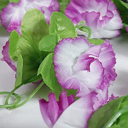 3X 6.89ft Artificial Vine Lilac Flower Arch Garden Decoration ... on