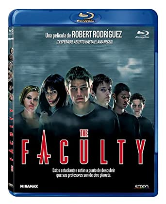The Faculty [Blu-ray]: Amazon.es: Clea Duvall, Robert Rodriguez ...