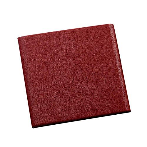 YJYdada Black Pocket Leather Tobacco Cigarette Card Holder Storage Case Box Container (Frame Cigarette Case)