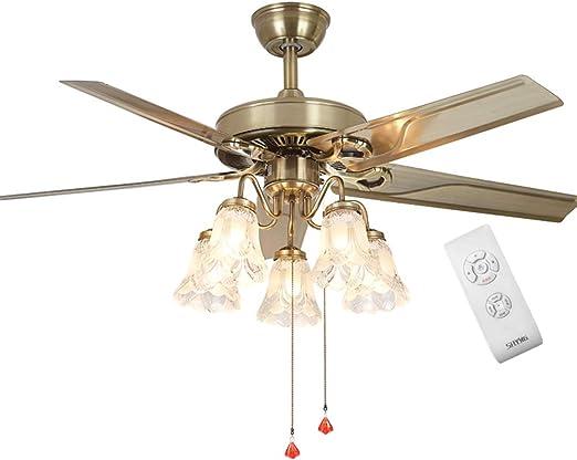 ventilador de Techo con lámpara - 48
