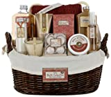 Morgan Avery Luxury Bath Collection 14 Piece Gift Set - White Cranberry and Maple